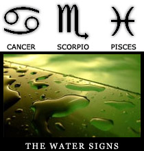 The Water Signs Zodiace Signs Dates