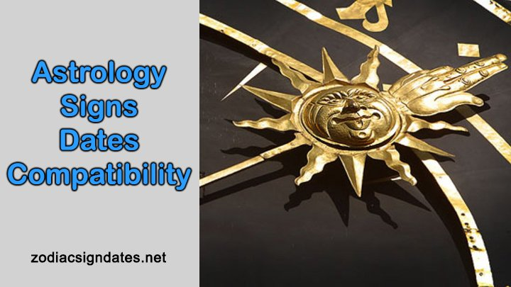 Astrology Signs Dates Compatibility