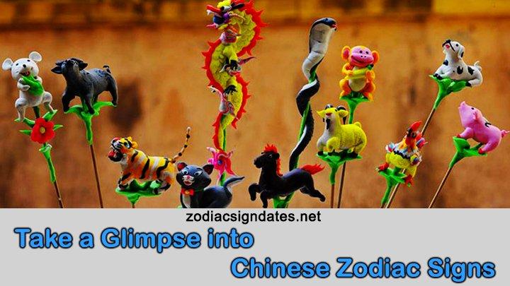 Take a Glimpse into Chinese Zodiac Signs